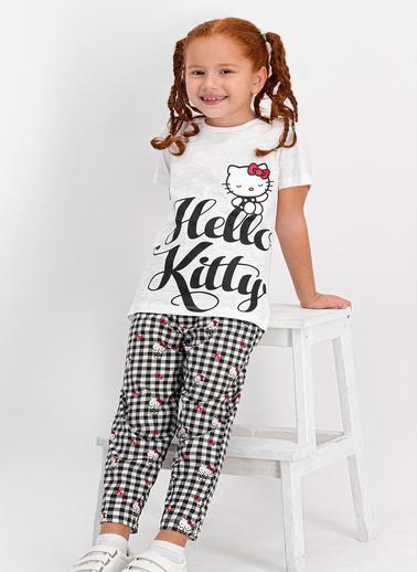 Hello Kitty Pijama Takım Krem